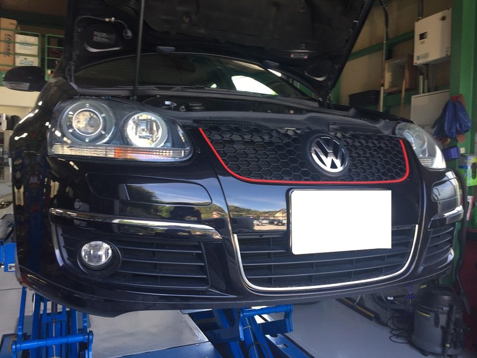 VW ゴルフ ドライブシャフトブーツ交換