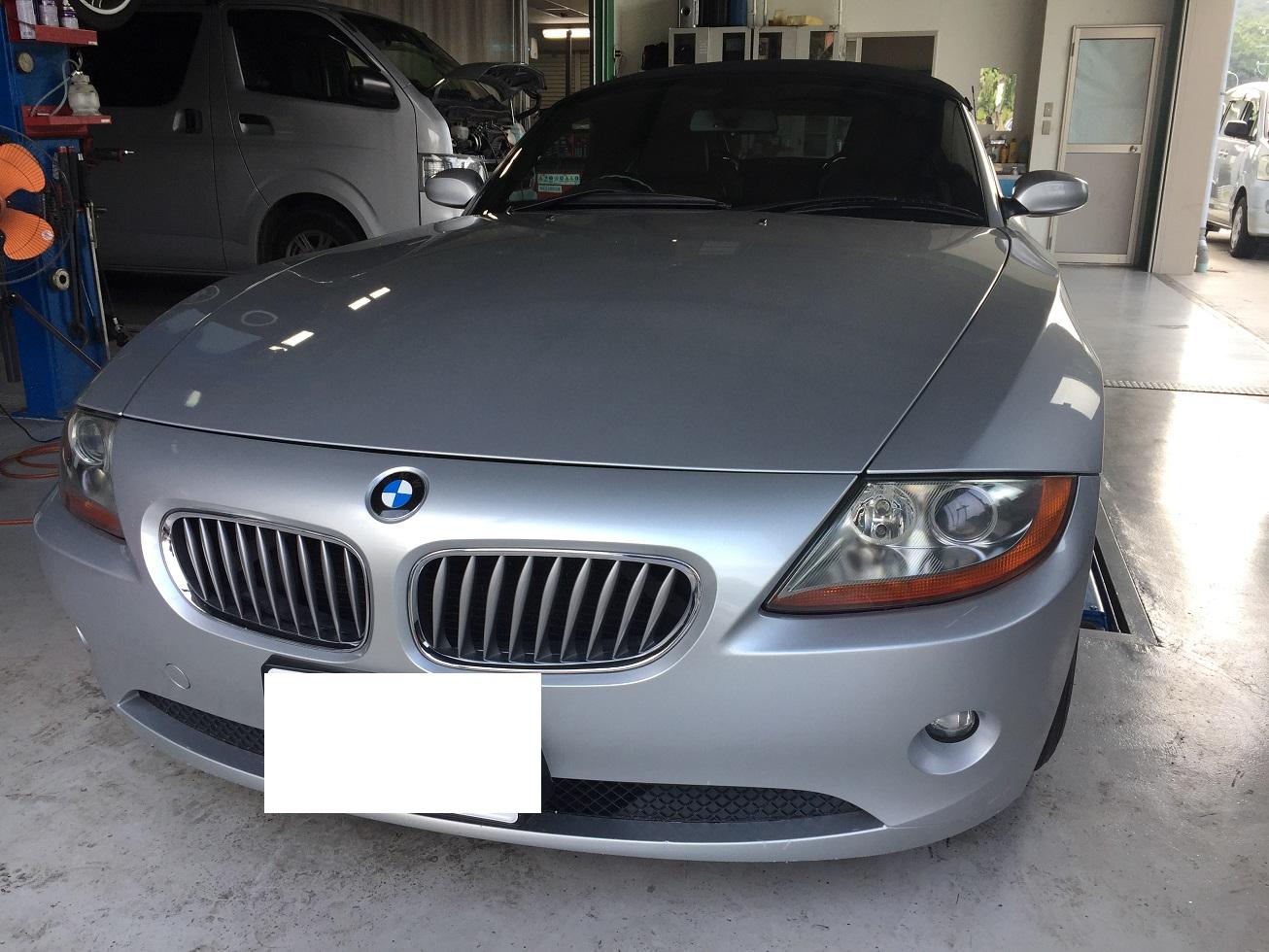 BMW Z4 異音 オートテンショナー交換