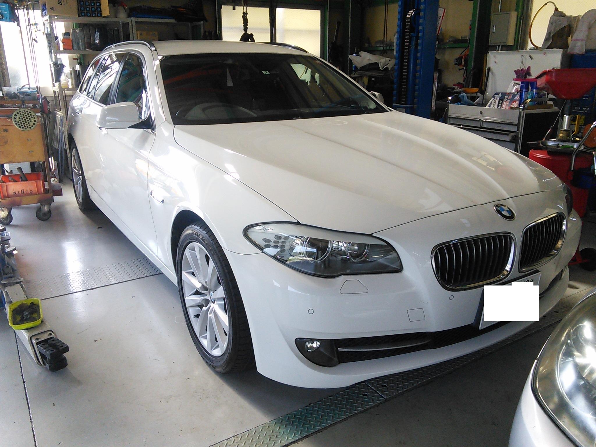 BMW F11 ブロアモーター異音する