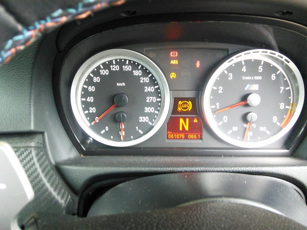 BMW M3 ABS警告ランプ点灯 センサー交換
