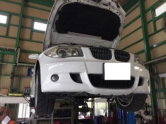 BMW 1シリーズ オイル漏れ修理