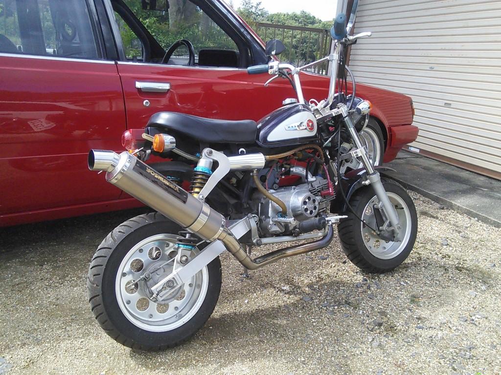 たまにはバイクも塗装します。  豊田市 板金塗装