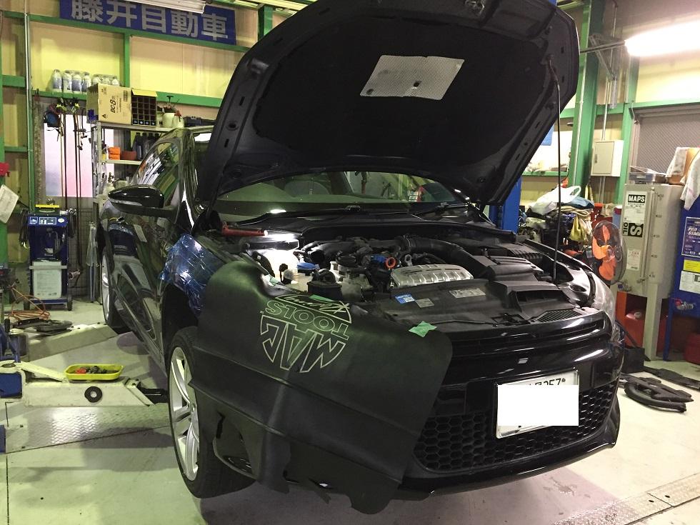 VW シロッコ 異音 ウォーターポンプ交換