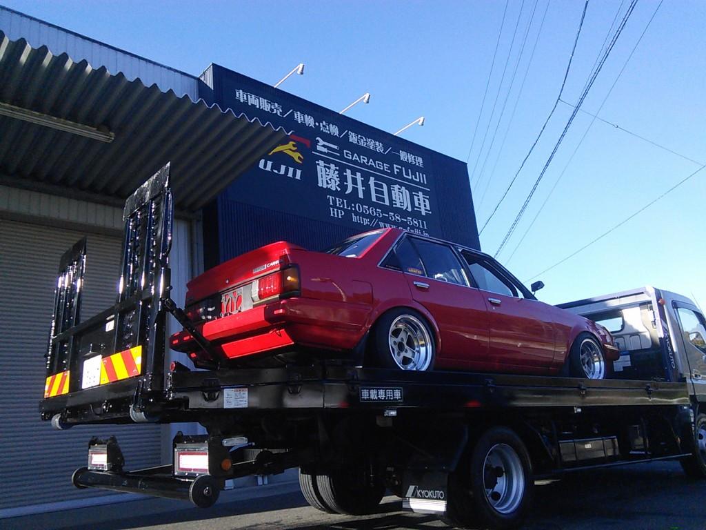 サーキットに行って来ました(^-^)。 BMW530i FRPスポイラー取り付け