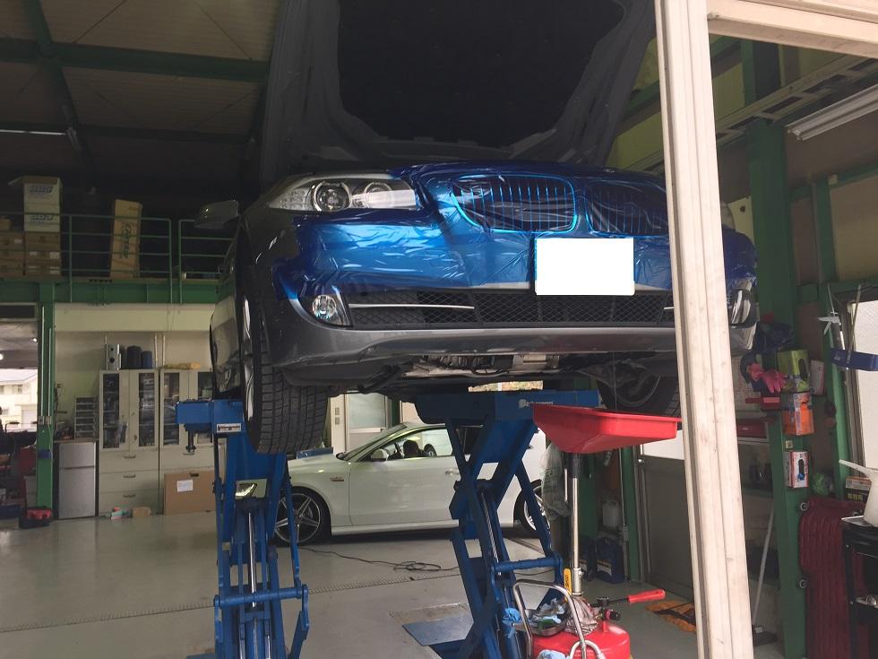 BMW 5シリーズ 水漏れ修理
