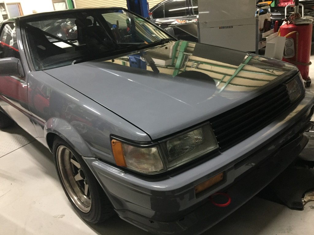 AE86 オイル漏れ修理 その他諸々