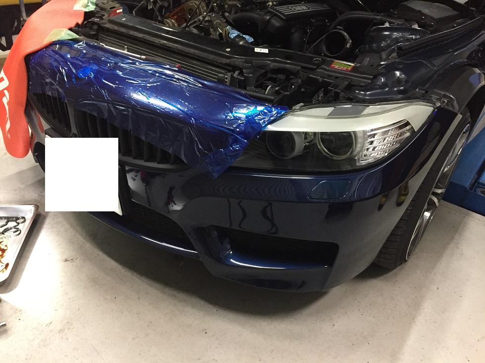 BMW Z4 オイル漏れ修理