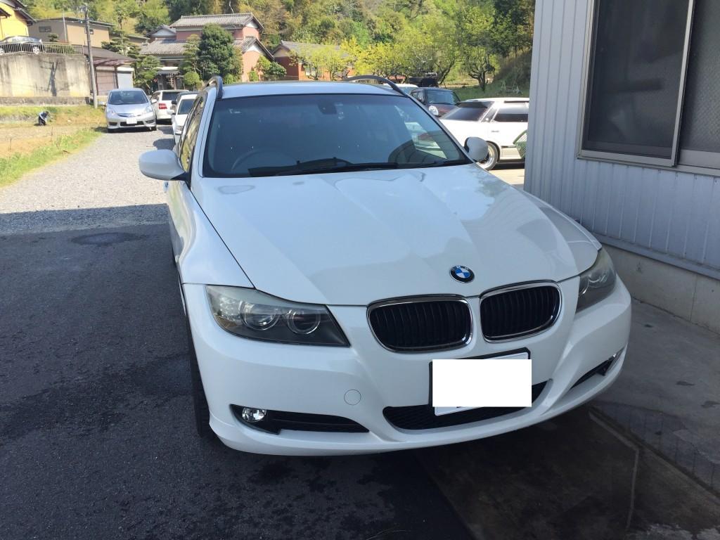 BMW E91 ワイパーが動かない モーターASSY交換