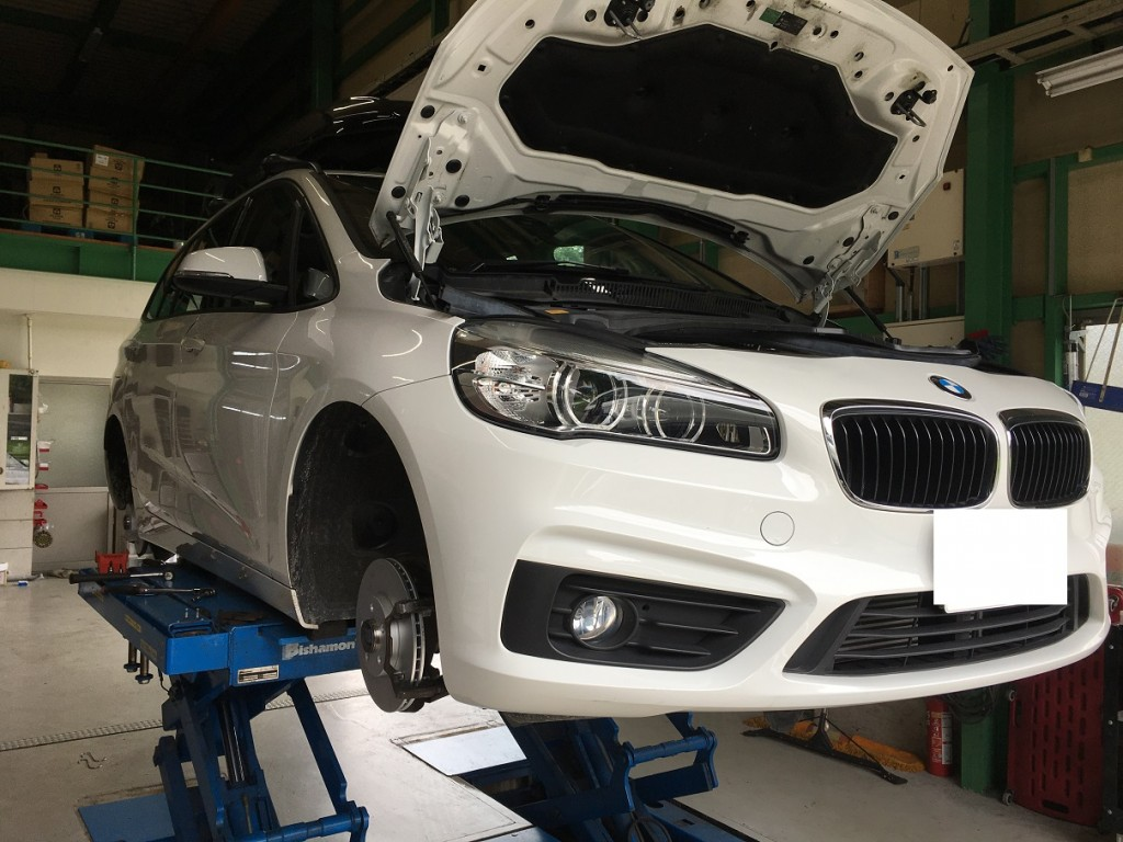 BMW 2シリーズ ブレーキ一式交換
