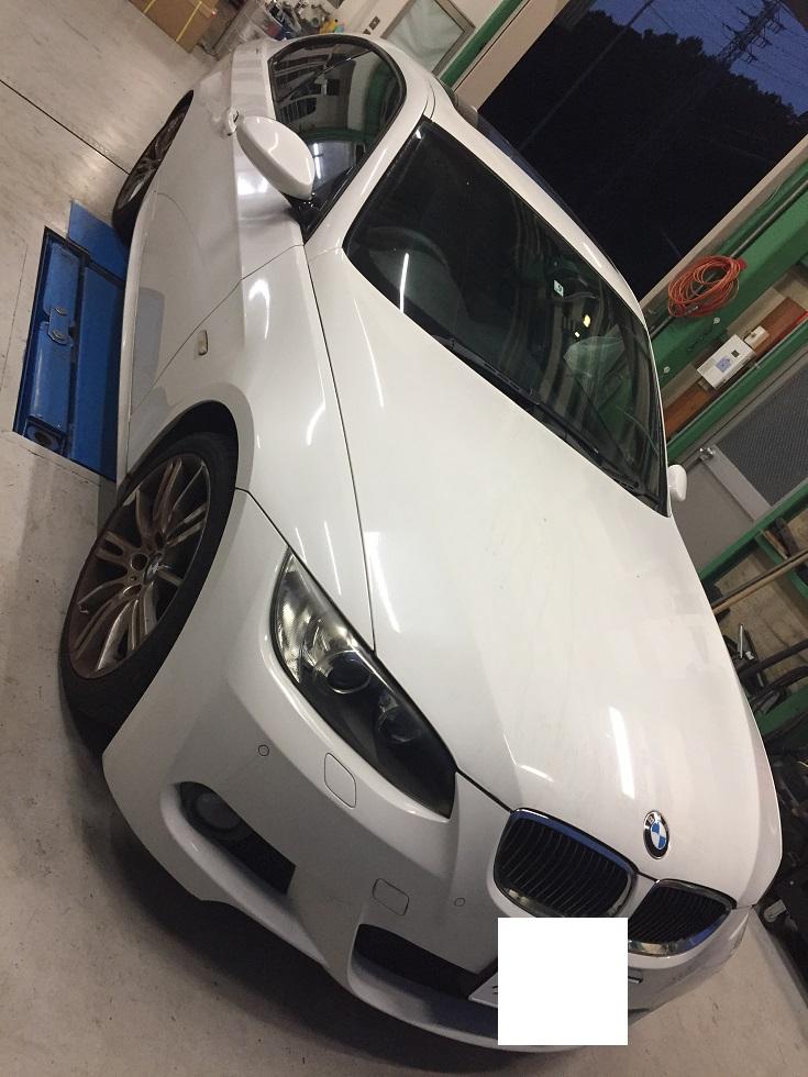 BMW 3シリーズ 低ダストパッド交換