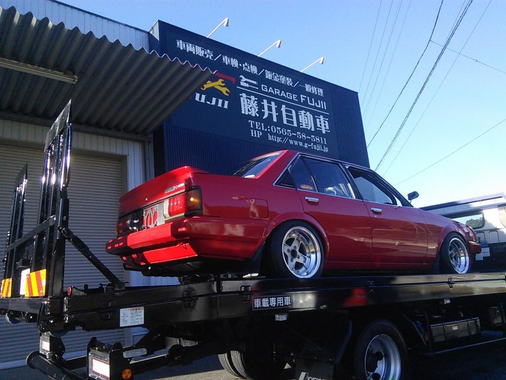 BMW 750i ルーフ塗装 カスタム  豊田市  板金塗装