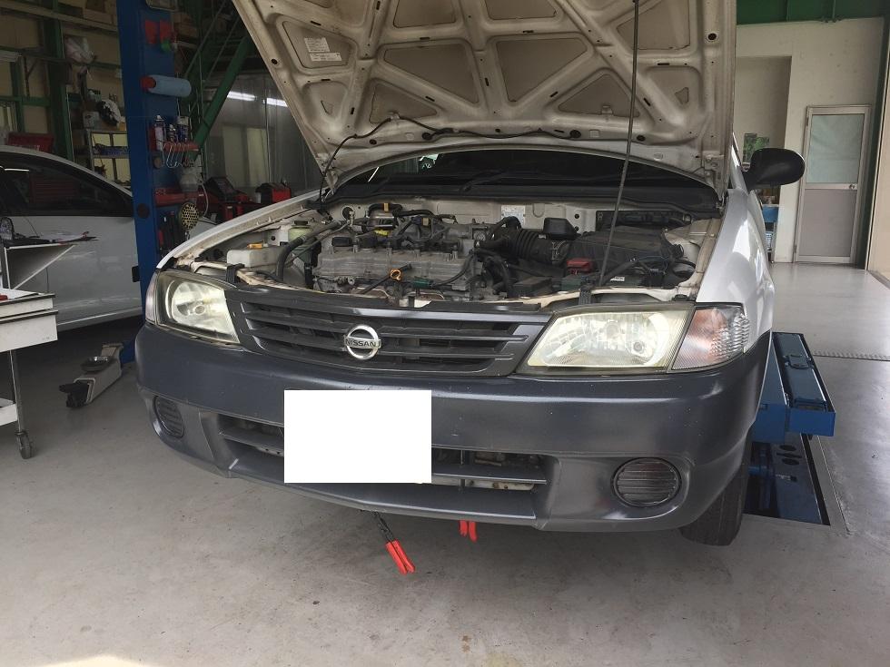 ADバン 車検 水漏れ修理