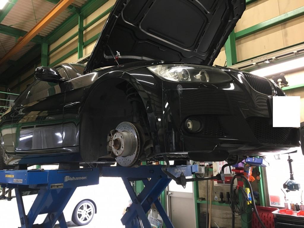 BMW 3シリーズ オイルパンガスケット交換
