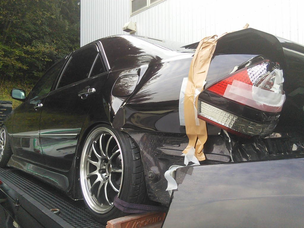 JZX110 マークⅡ 全塗装 その1   豊田市   板金塗装