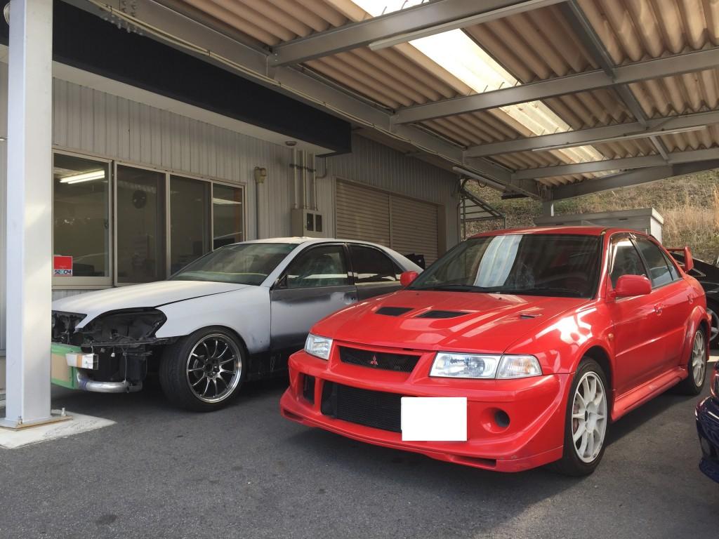 全塗装 その1 次の車はランサーエボリューション  豊田市  板金塗装