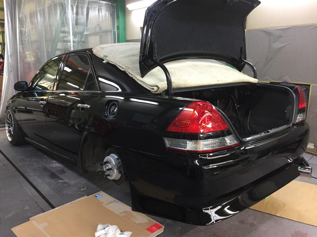 全塗装 JZX110 マークⅡ その12 遂に完成  豊田市  板金塗装