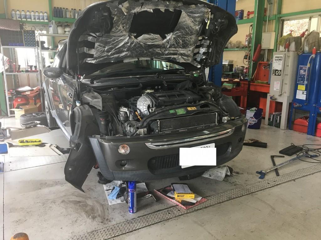 R53 ミニクーパー 諸々修理